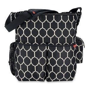 SKIP HOP | Onyx Tile Duo Diaper Bag
